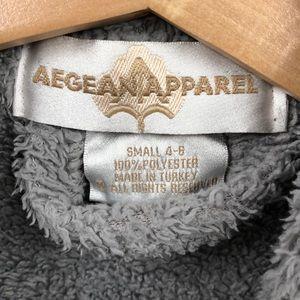 Aegean Apparel Pajamas - Kids Cozy robe Aegean Apparel size 4-6